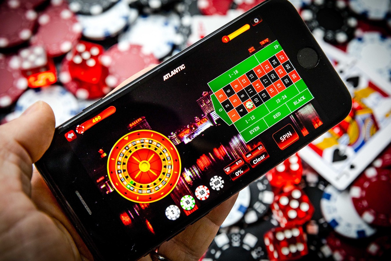 gambling games list